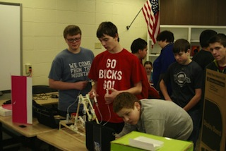 Students at STEM Academy