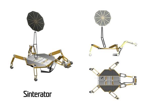 sinterhab - Nasa Spider Robot