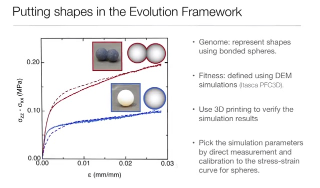 the evolutionary optimization process