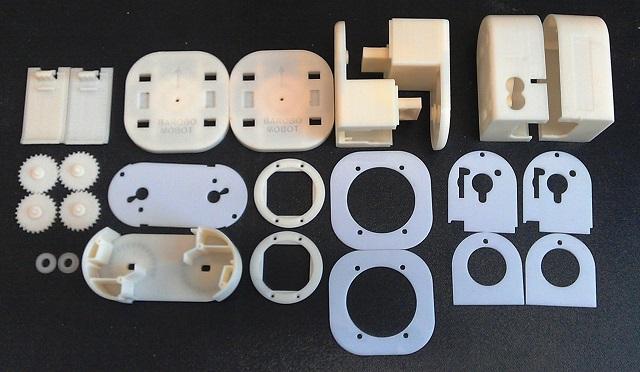 3D printable parts Barobo's Mobot-A