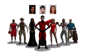3DMe Characters