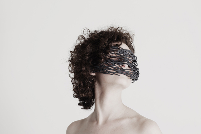 Do the Mutation collagene portrait0302 3D printed