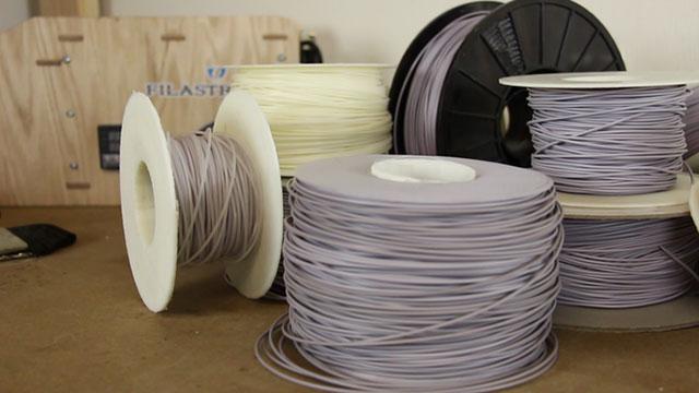 Filament Filastruder 3D print material