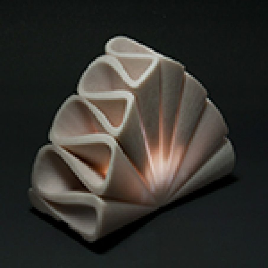 Maria.Fata Lamp 3D Printed