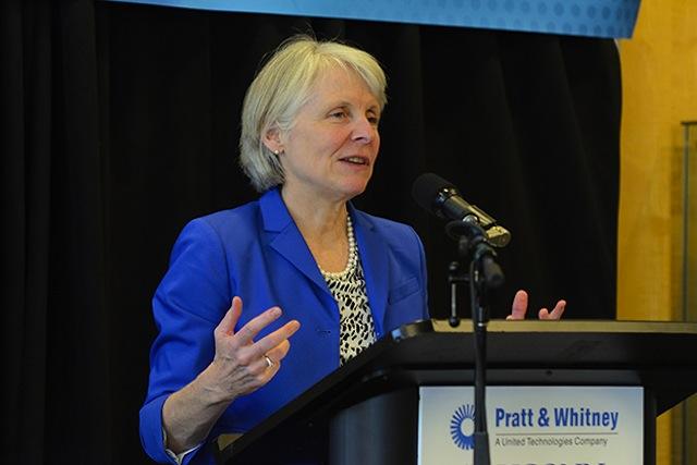 Pratt & Whitney Additive Manufacturing Innovation Center Catherine Smith