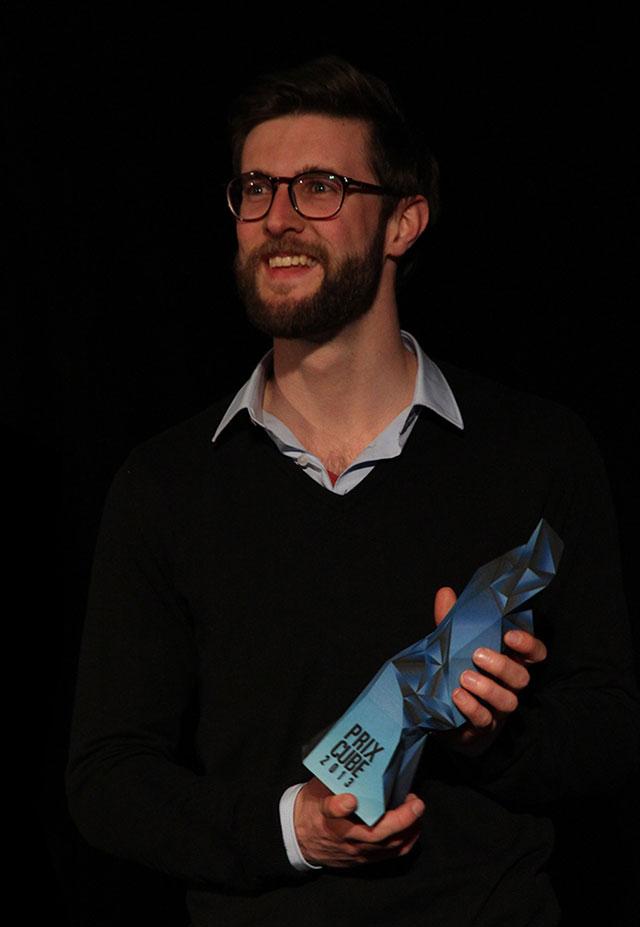 Matthijs Munnik 3D Printed Trophy Prix Cube Awards