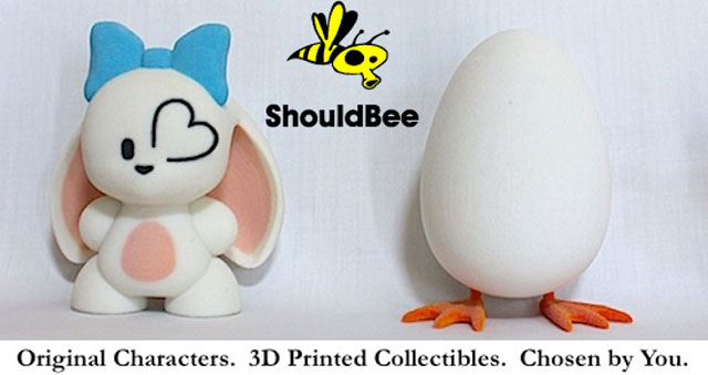 ShouldBee 3D printed toy & collectible service
