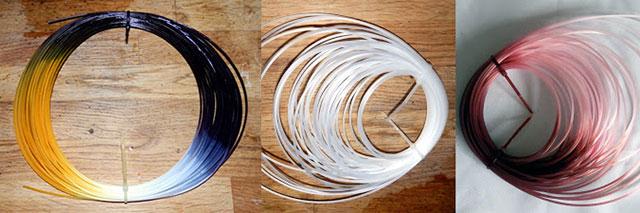 Taluman Filament Nylon 618 Magenta part dyed