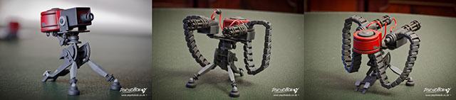 Psychobob 3D printed sentry gun