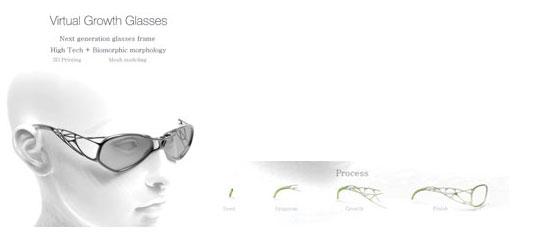 Virtual-Organic-Glasses