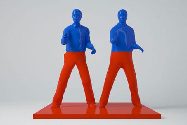 Double Elvis Dominik Raskin 3DP Andy Warhol
