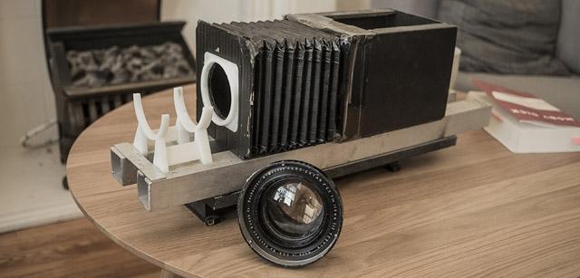 The Aero Ektar 178mm f2.5 camera lens