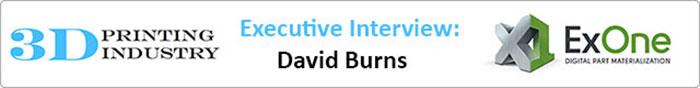 David Burns ExOne
