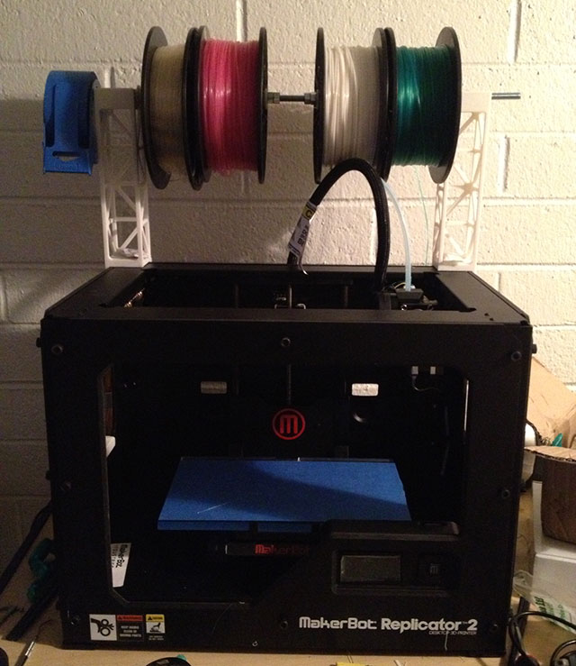 The Replicator 2 3D Printer