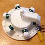 LaserHacker 3D Printed Motor