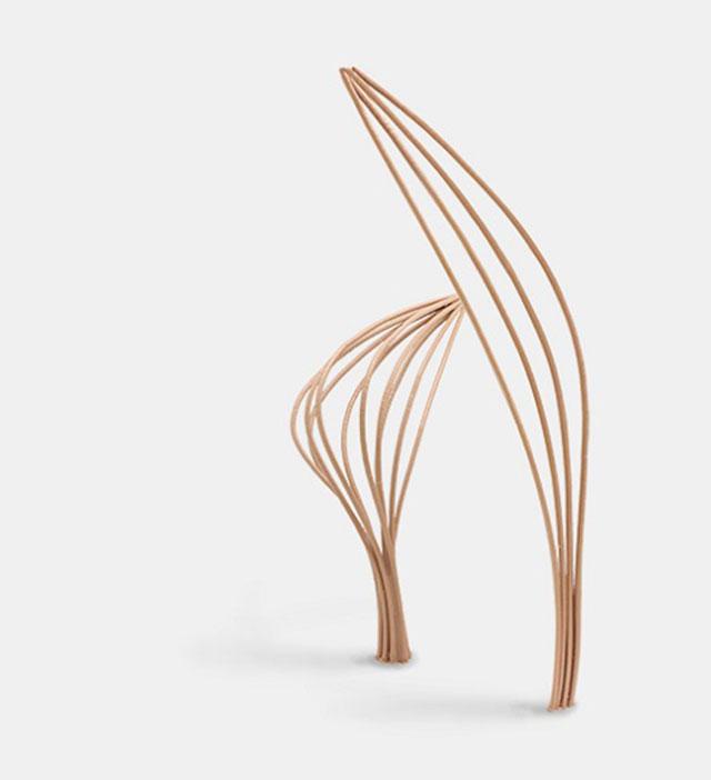 Mataerial Curves 3D Printing