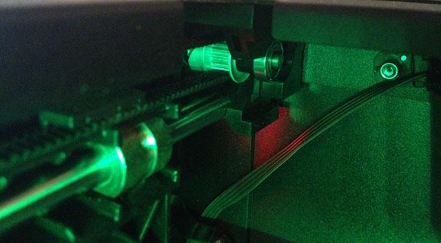 The Replicator 2 3D Printer Gantry