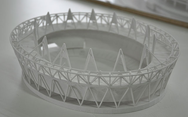 Olympic Stadium Modla 3D Design