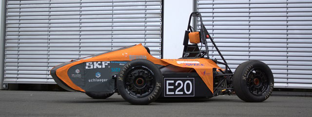 Elefant Racing Voxeljet 3D Printed Seat