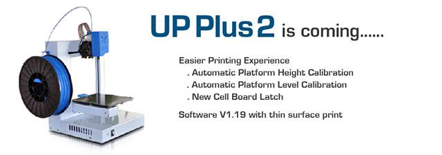 PP3DP UP! Plus2 3D printer