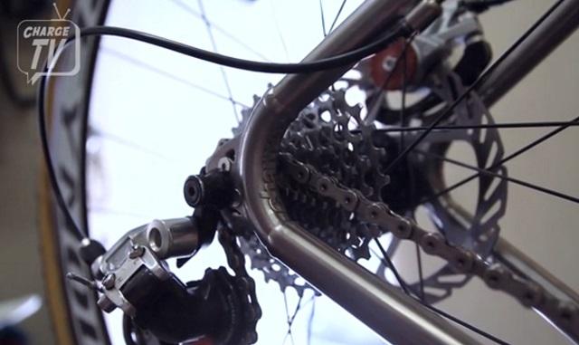 charge bikes 3D printed titanium part