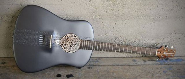 3D Printed Guitar acoustic