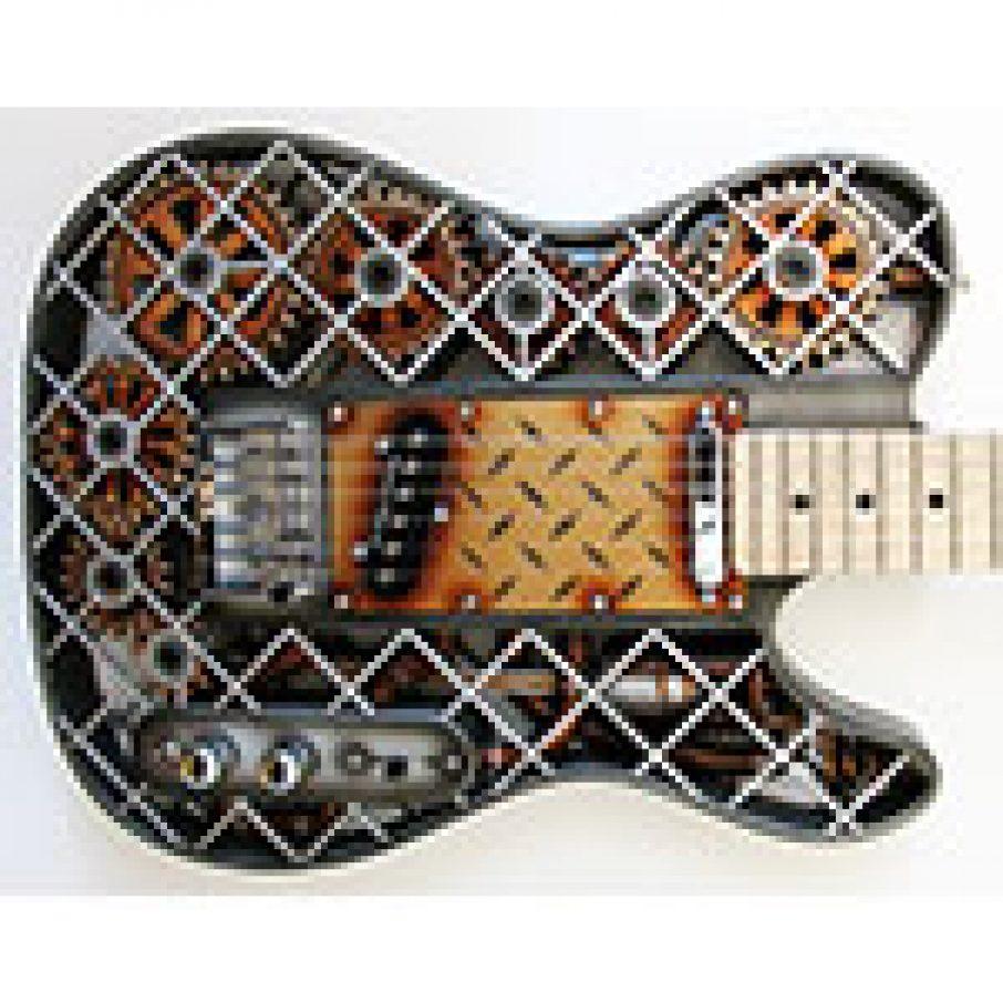 3D Printed guitar Olaf Diegel