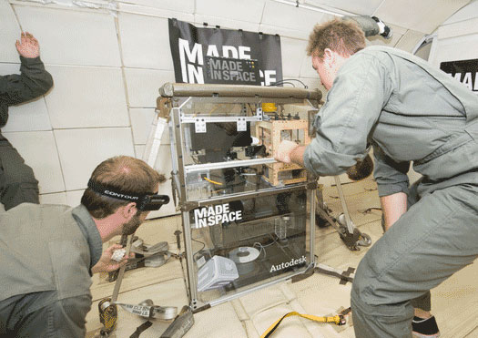 3d Printer Made In Space Nasa