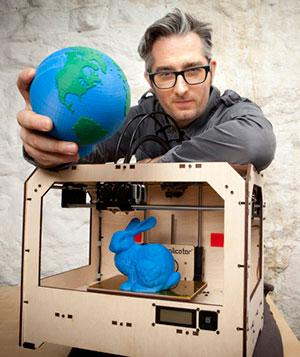 Bre Pettis CEO MakerBot