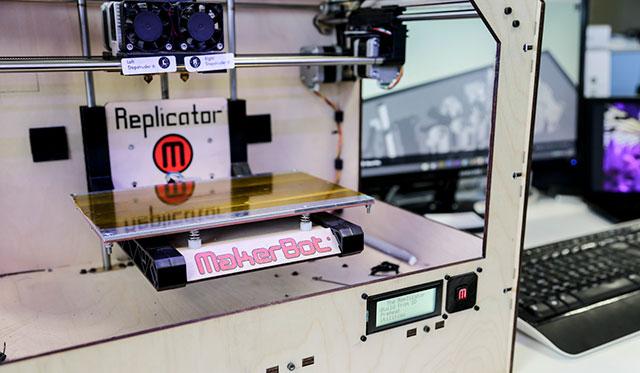 Makerbot  Replicator Close Up