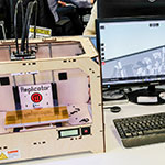 Makerbot Replicator On Desk Tesco