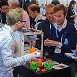 Makers TCT2012 RepRap 3D Printer