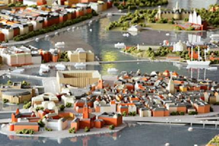 Mitekgruppen 3D Printed Stockholm Coastal Detail Replica Stratasys