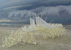 Theo Jansen 3D Printed strandbeest