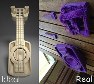 makerlele by Cube 3D Printer