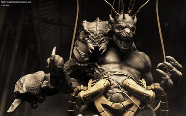 monster 3D Modeling