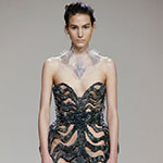 3D Printed Hybrid Dress Iris van Herpen Materialise