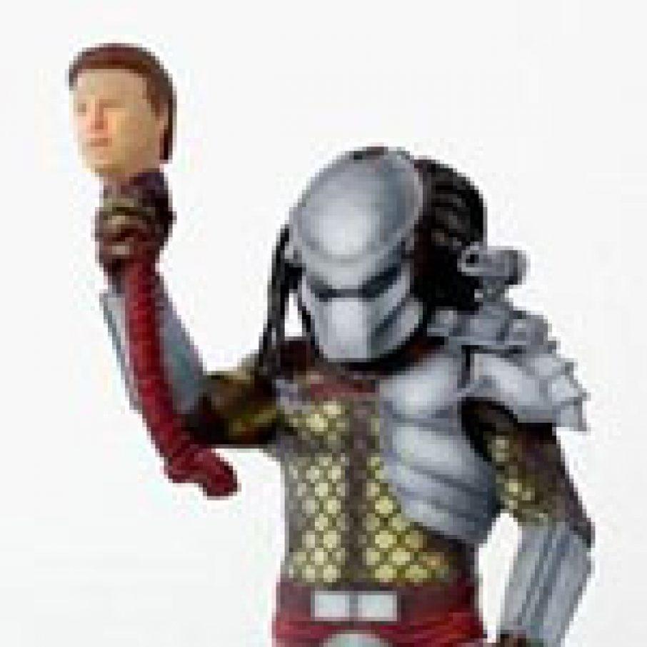 3D Printed Predator 3D Scanned Head