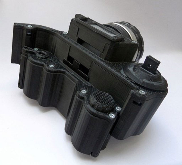 3D Printed SLR Camera open reflex