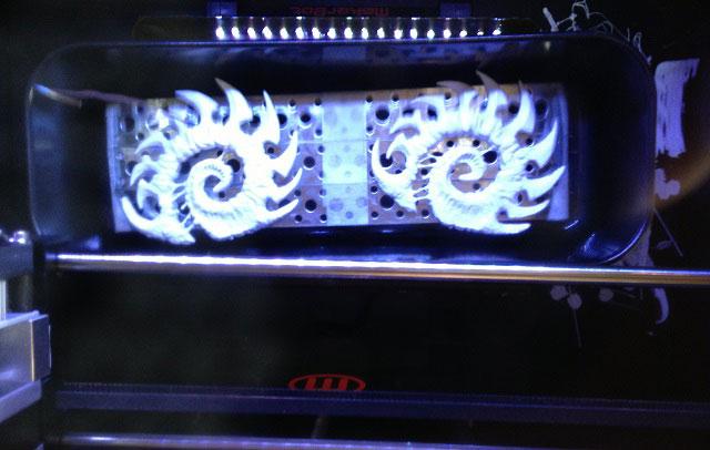 3D printing process StarCraft