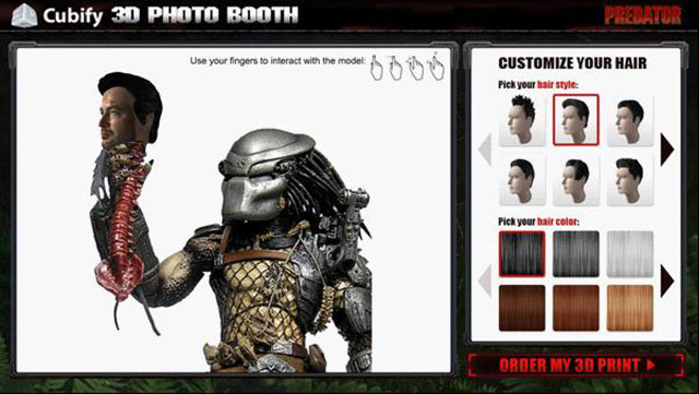 Cubify 3D Photo Booth Predator