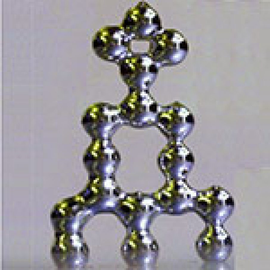 Dicky liquid metal 3D structure