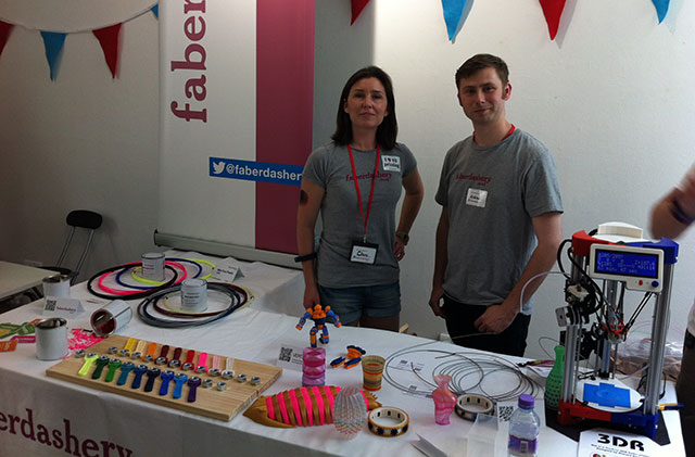 Faberdashery Mini Maker Faire London