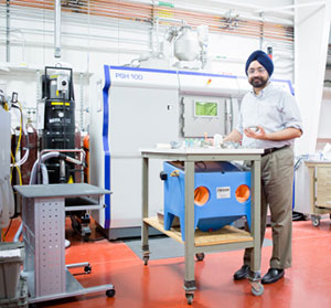 GE Additive Manufacturing Lab Prabhjot Singh