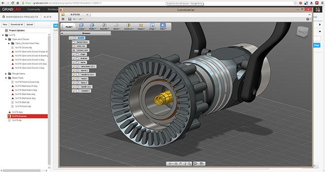 GrabCAD Fusion 360 Launch
