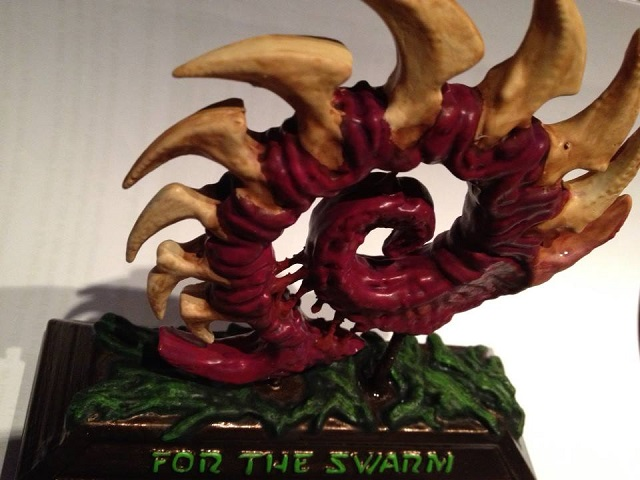 StarCraft Zerg Swarm Closeup 3D Printed
