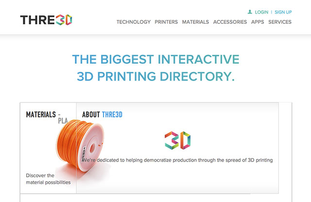 Three3D Website