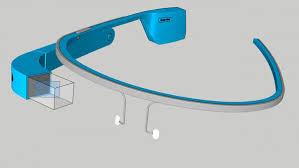 GlassKap Todd Blatt Google Glass 3d model