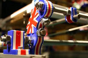 richrap multi color british print