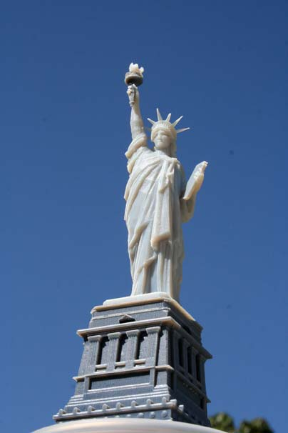 Statue of Liberty 3D Printed
